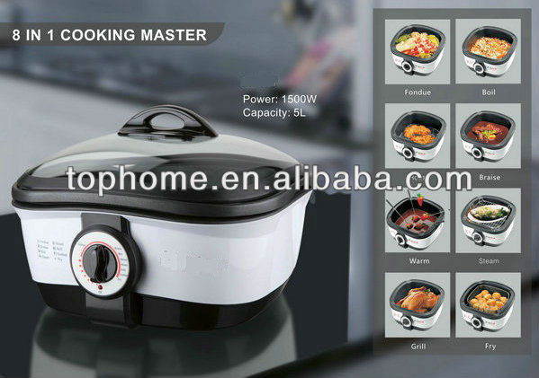 Electric Slow Cooker (8 IN 1)