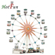 other amusement park products cheap 30m/20m ferris wheel for sale