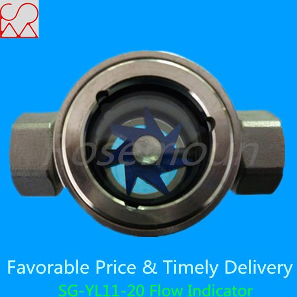 Water flow rate sensors and visual rotor sensor