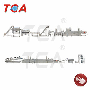 Hot sale automatic fresh potato chips french fries making machine / potato french fries production line