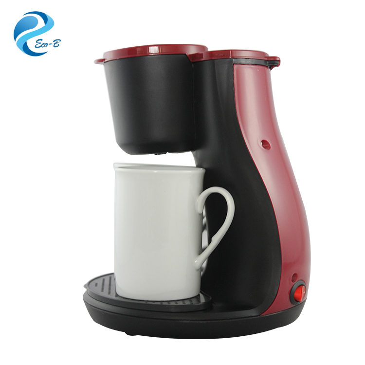 Wholesale Customer Gifts Family Mini Polypropylene 2-Cup Drip Coffee Maker Machine