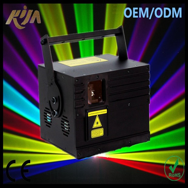 3W RGB animation 3000mW Full Color multicolor laser dj lighting