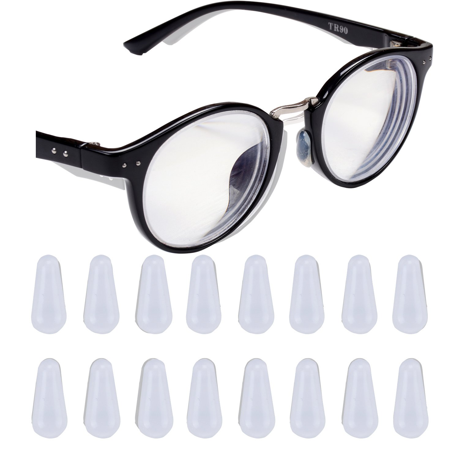 c57239820b4 Get Quotations · eMingo 10 Pair Eyeglasses Nose Pads