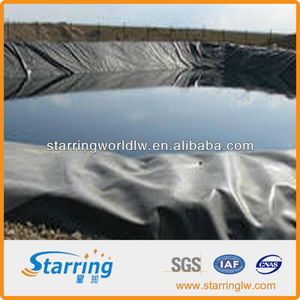 1.0MM HDPE GEOMEMBRANE FOR ARTIFICIAL POND FISH