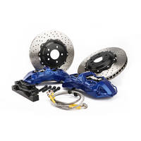 6 piston big brake kit Aluminum Cast calipers WTgt6 big brake kit with drilled rotors fit For Car