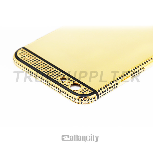 diamond black genovesi products case iphone inc gold plus ix x