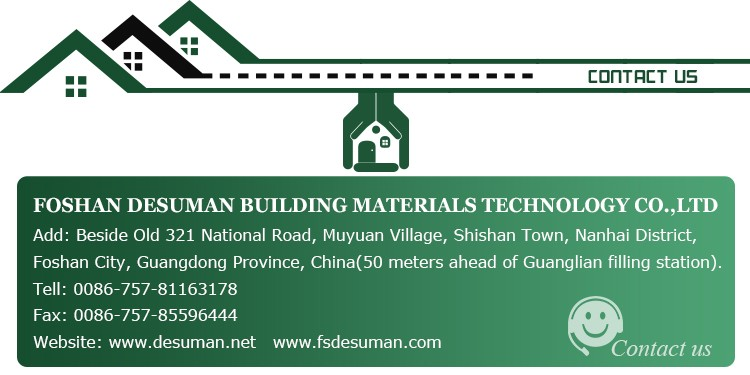DESUMAN new style popular design and style wall and roof eps sandwich panels