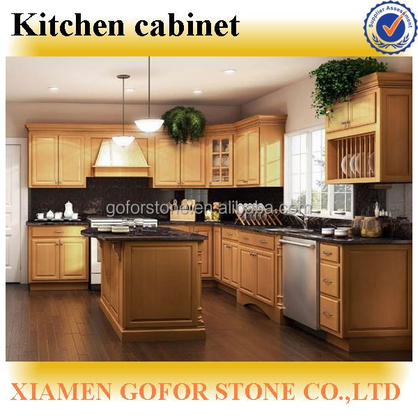 Birch Wood Kitchen Cabinet,Modern Kitchen Cabinets,Solid