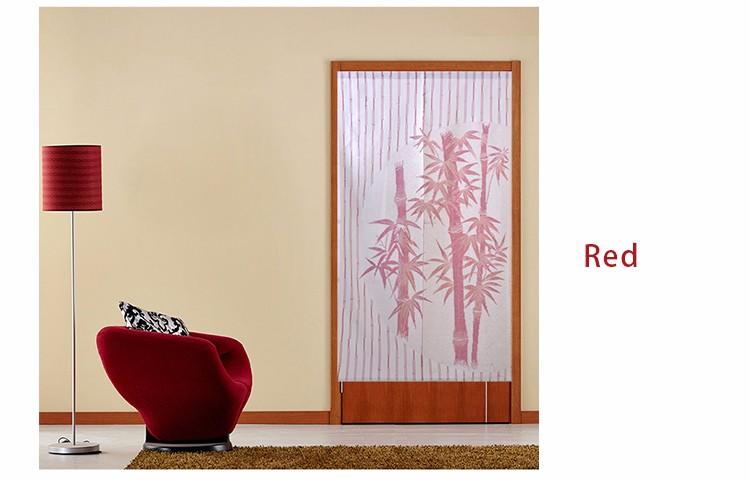 Gordijn Voor Deur : Gordijnen cm polyester bamboe patroon gebreide deur gordijn