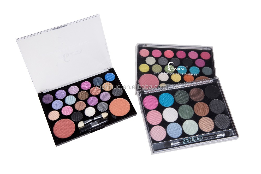 Yiwu Private label eyeshadow palette & blusher kit