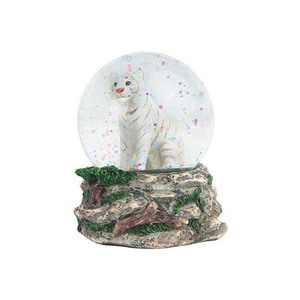 Unique style new decor india snow globe