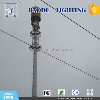 FDD-LTE Antenna Mast and Communication Tower for China Telecom