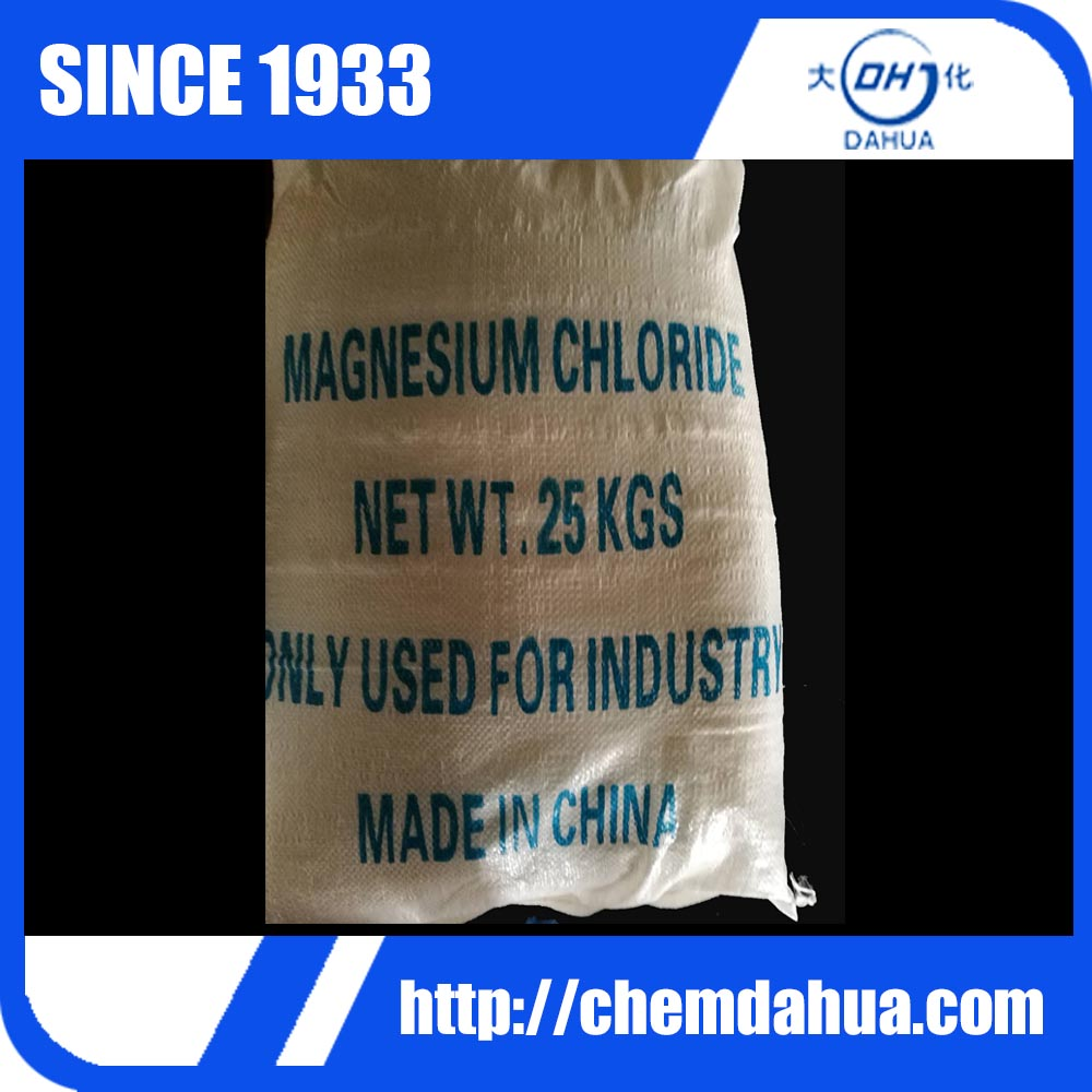 Cas No 7791-18-6 MgCl2 46%min Flakes Magnesium Chloride Brine
