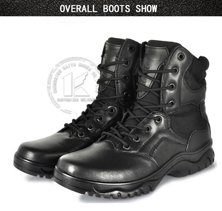 waterproof black security boots for walking buy black