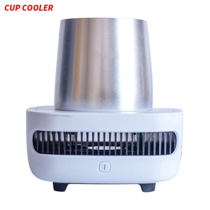 Electric drink cup cooler 12v beer coffee cooler and warmer for car home office