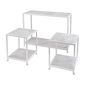 Benzara Imx-47644-3 Windsor Marble Console and Accent Tables