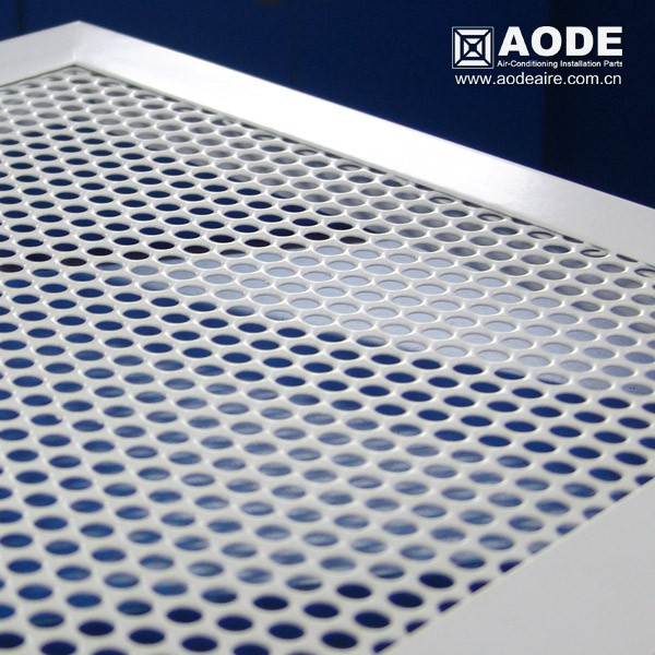 Aluminium Ventilation Grille With Fixed Core Pmgf