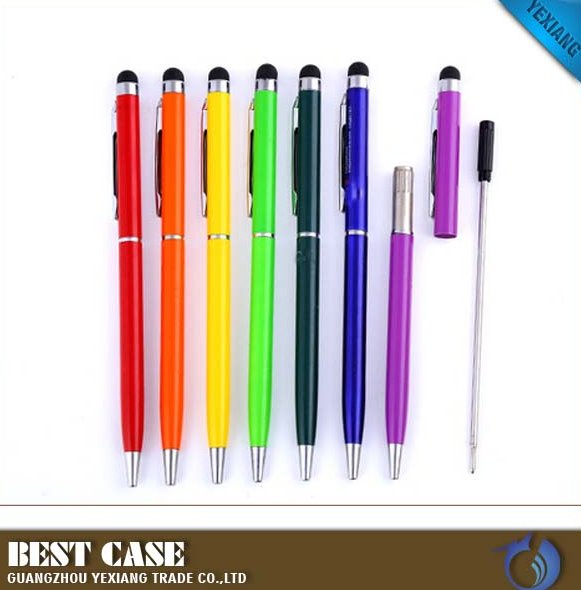 Cheap promotion gifts touch pen from China plastic touch screen stylus pen for laptop