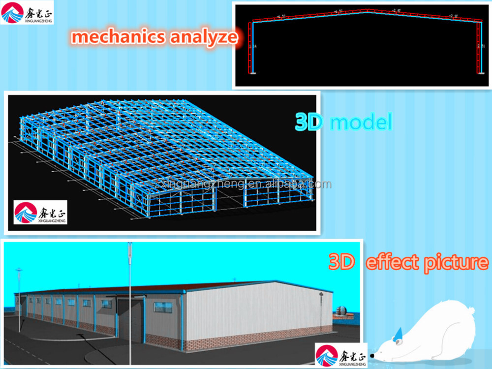 Fast Installation metal structure warehouse