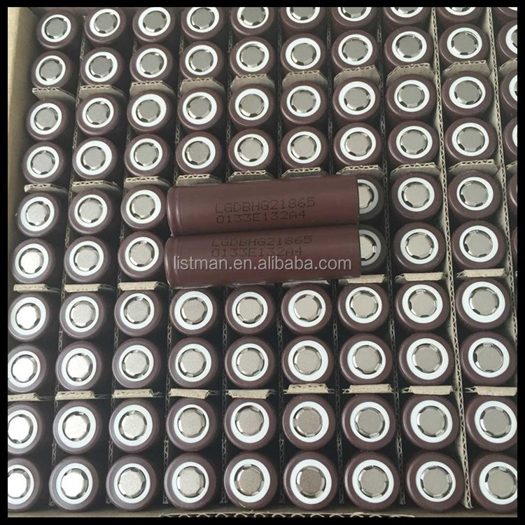 2015 Newest !!! LG HG2 18650 20a 18650 3000mAh 3.7V 20a battery, 18650 20a,18650 rechargeable batteries for power tools/e-cigs