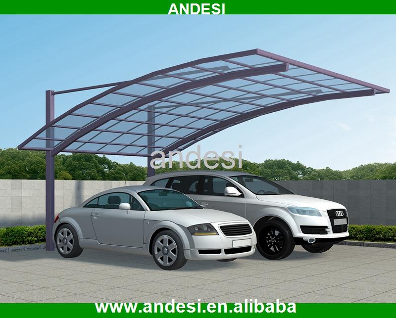 Doble techo plano garaje con panel de policarbonato for Garajes con techos policarbonato