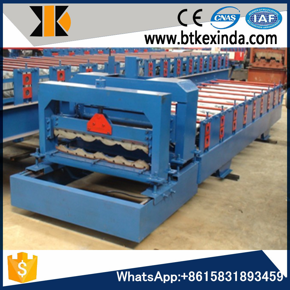 glazed tile roof machine automatic steel coil slitting machinery