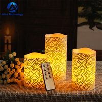 remote control electronic led candle for party and wedding
