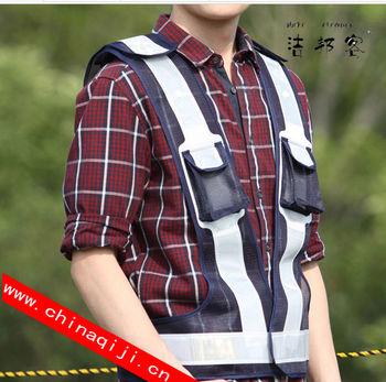 1cd2d4d5df Venda quente colete refletivo de alta visibilidade colete refletivo de  segurança colete com bolsos