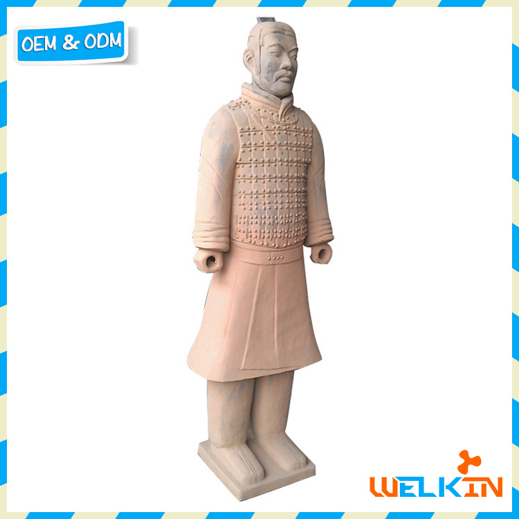 Cheap terracotta warriors souvenir high imitation color