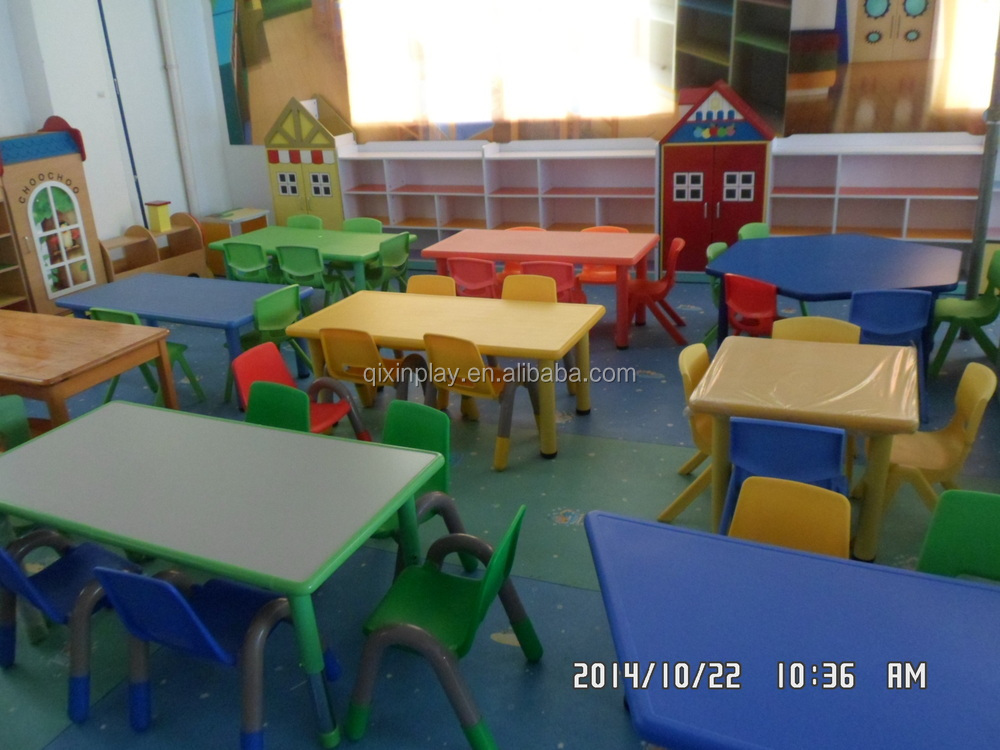 2016 Guangzhou Cheap Preschool Furniture Kindergarten Furniture Tables And Ch