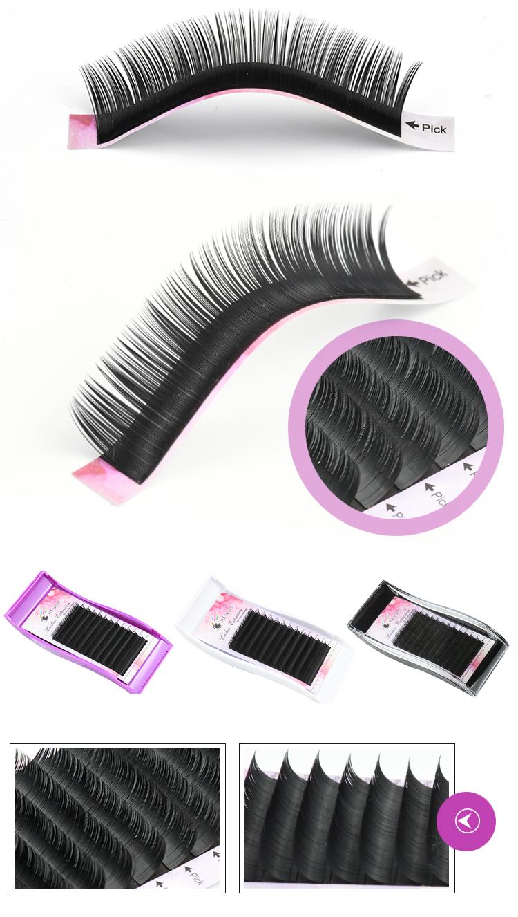 Beautier ขนตาจริง mink eyelash extension supply สำหรับ eyelash extension