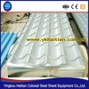 Metal building materials corrugated sheet, durable zinc coated roof shingle, popular colored coated steel roofing tile