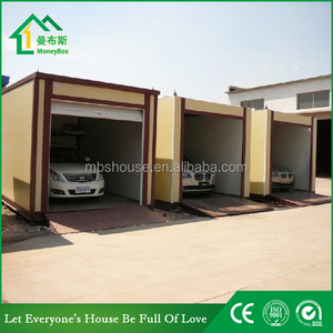 Prefabricated Garage/Prefab Container carport/Single Portable carport