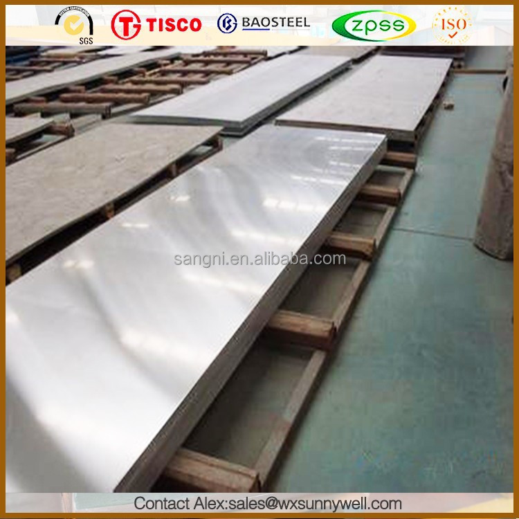 tisco stainless steel sheet no 8 mirror finish 309s
