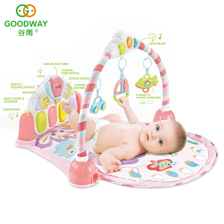 fullxfull floors au floor listing play zoom playmat baby bear girl pink il crawl mat gym