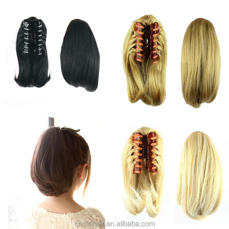 Lady Women Girl Short Clip Ponytail Pony Tail Hair Extension Claw Hair Piece Straight Buy Hair Pieces For Short Hair Hawaiian Hair Pieces Dance Hair Pieces Product On Alibaba Com