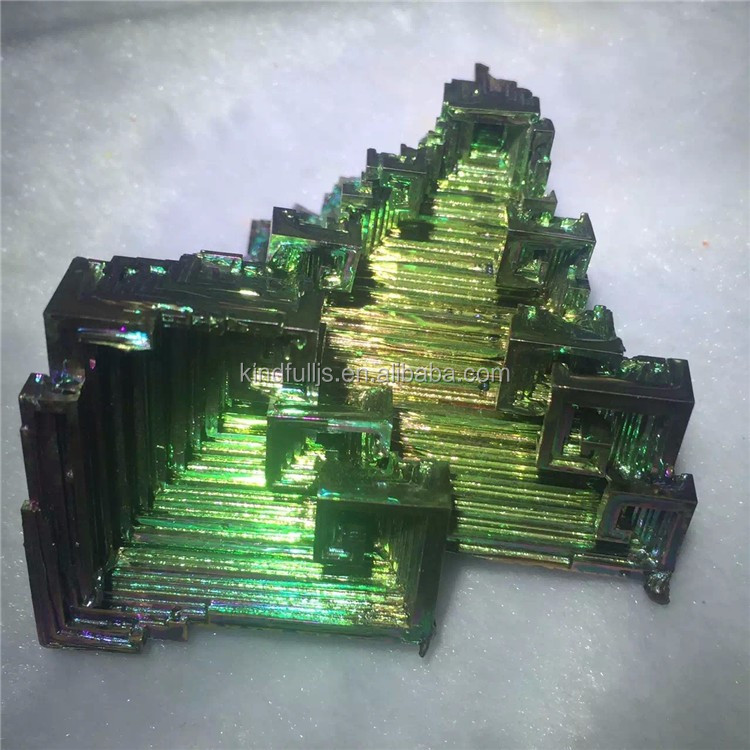 Natural Bismuth Mineral Ore Crystals For Sale