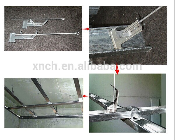 Gypsum Board Ceiling Components Hanging Wire Rod Suspender