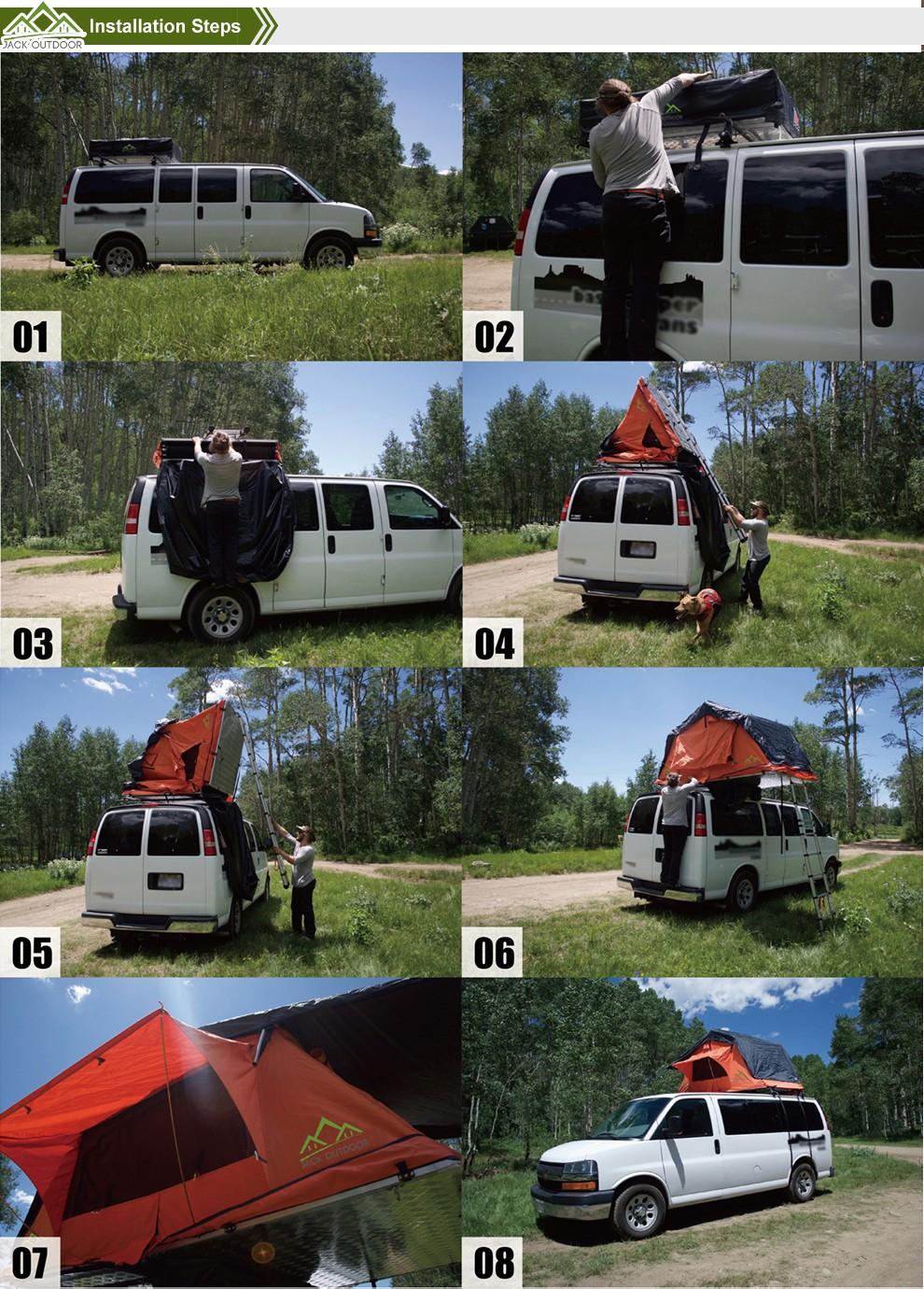Hot Camping Equipment Outdoor Travel Camper Van Car Tent
