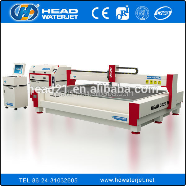 High efficient water jet metal cutting stainless steel cutting machine