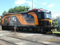 railway axle electric locomotive for line service