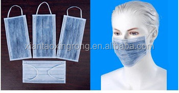 Active Carbon Face Mask Made Of Non Woven Material