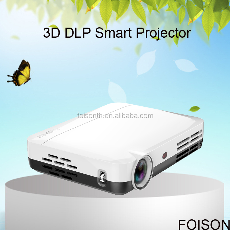 Home Theater WIFI 3D LED Light Full HD Handy Projector Android Os Bluetooth 35W Power DLP Projector