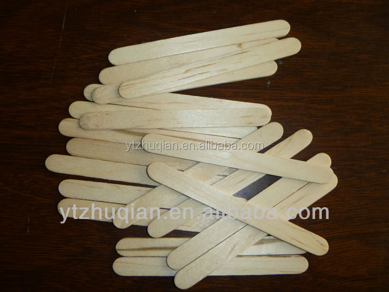 High Quality Wholesale Factory Colorful Wooden Ice Cream Stick Custom Popsicle Sticks