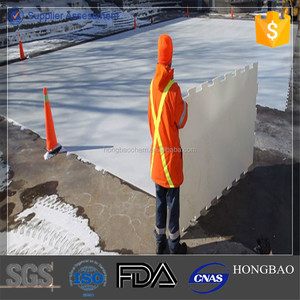 plastic ice panel/polyethylene plastic board/public skating rink