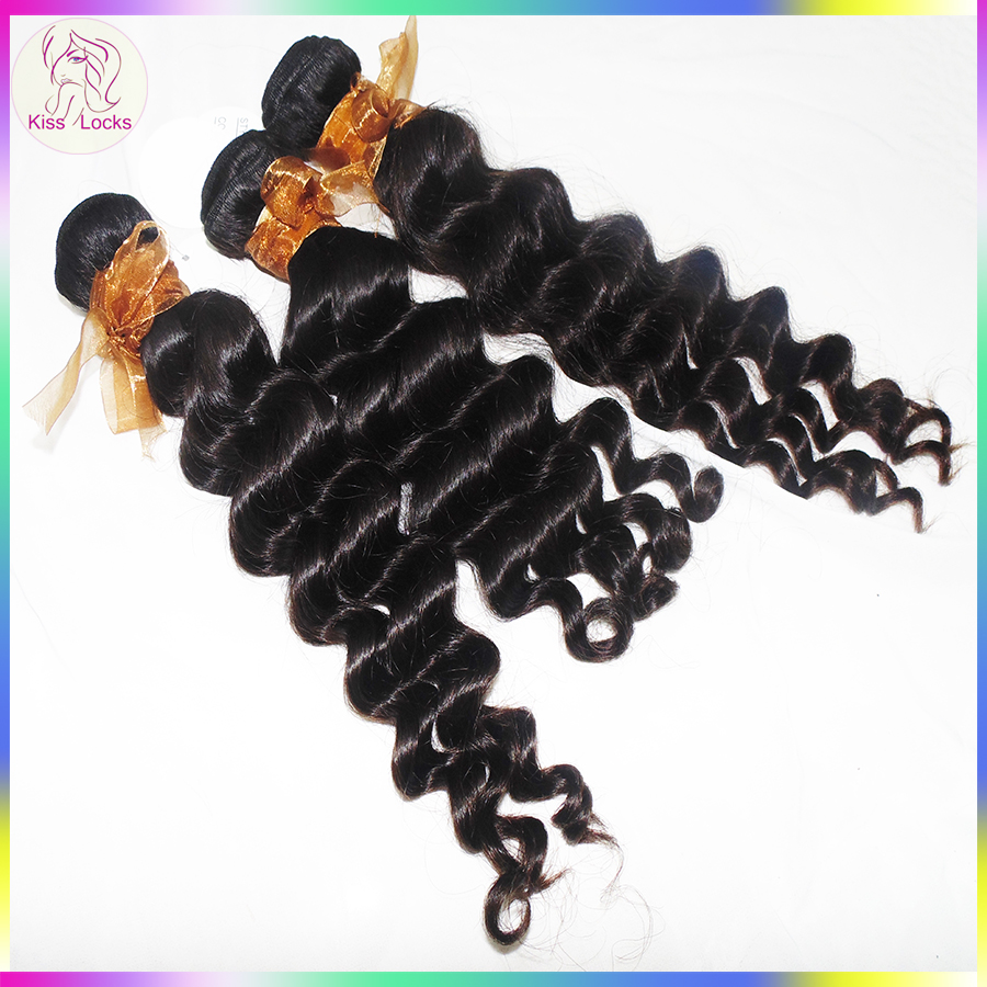 Factory Burmese Loose Deep Wave Human Hair Weave Cut From One Donor 10A Best Quality Good <strong>Delivery</strong>