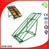 Green color vegetable/fruit display rack/shelf