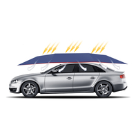 Automatic Folding Parking Tent Sun Shade Car Umbrella With Remote Control