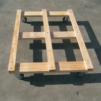 four wheel go cart hand tool trolley cart