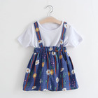 EG-Les115 hand made fashion baby girl party maxi dress children frocks desi dress baby